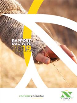 Rapport activité Noriap  2019